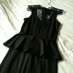 Black Gypsy Warrior dress